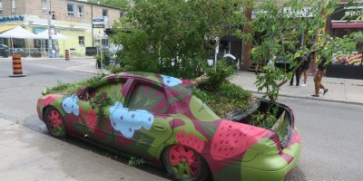 The Future of Automobiles Is Green In Kensington Market